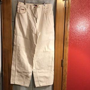 Hilfiger Vintage circa 1996 white Carpenter Jeans
